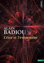L'être et l'évènement d'Alain Badiou