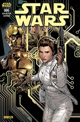 Star Wars N°06 (Variant - Tirage limité) de Jan Bazaldua