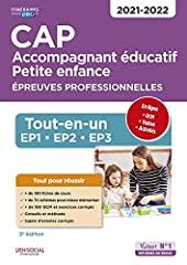 CAP Accompagnant éducatif Petite enfance - Épreuves professionnelles - Tout-en-un pour réussir les EP1, EP2, EP3 - 2021-2022 (2020) de Virginie Pépin