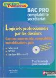 Logiciels bac pro secrétariat comptabilité (Manuel + CD)