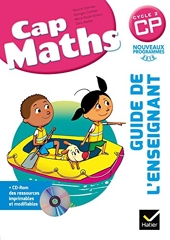 Cap Maths CP éd. 2016 - Guide de l'enseignant + CD Rom de Roland Charnay