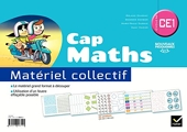 Cap Maths CE1 éd. 2016 - Matériel collectif de Roland Charnay