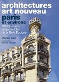 Architectures Art Nouveau - Paris et environs