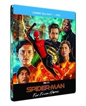 Spider-Man - Far from Home [Boîtier SteelBook limité Exclusif Amazon-Blu-Ray + DVD]
