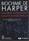Biochimie de Harper - De Boeck - 13/01/2003