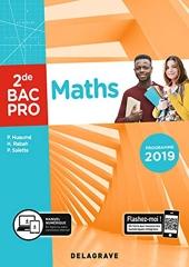 Maths 2de Bac Pro (2019) - Pochette élève (2019) de Pierre Salette