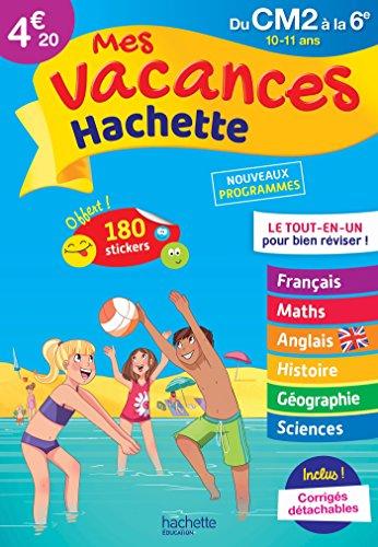 Mes vacances Hachette CM2/6E