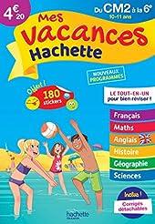 Mes vacances Hachette CM2/6E - Cahier de vacances de Philippe Simon
