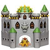 SUPER MARIO Playset Château de Bowser avec Figurine de Bowser, Effets sonores, Musique de Mario et Nombreuses pièces interactives 400204