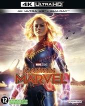 Captain Marvel [4K Ultra HD + Blu-Ray]