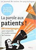 Le Cercle Psy Hs N 3 la Parole aux Patients Cerh3