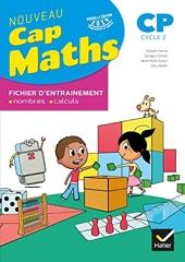 Maths Cp Cap Maths - Fichier d'entrainement, nombres - calculs de Roland Charnay