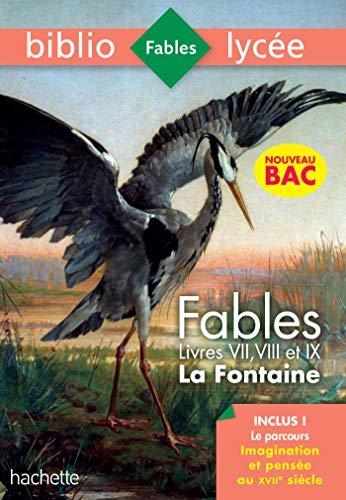 Bibliolycée - Fables de la Fontaine, Jean de la Fontaine - 1eres technos - BAC 2021 Parcours Imagina