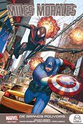 Marvel Next Gen - Miles Morales T02 A grands pouvoirs de Pepe Larraz