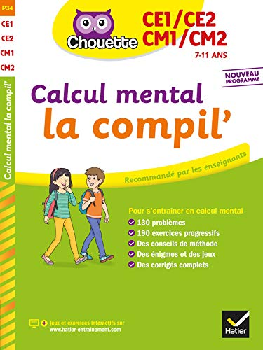 Calcul mental du CE1 au CM2