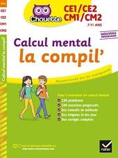 Calcul mental du CE1 au CM2 de Lydie Treffort