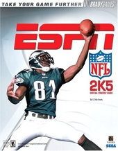 ESPN NFL 2K5 Official Strategy Guide de BradyGames