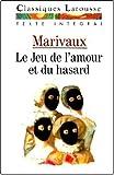 Le jeu de l'amour et du hasard Texte intégral by Marivaux (1991-09-05) - Larousse - 05/09/1991