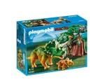 Playmobil - 5234 - Jeu de Construction - Tricératops et son Petit avec Arbre