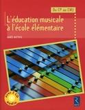 L'éducation musicale à l'école élémentaire (+ 2 CD audio) - Retz - 29/01/2009