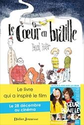 Le cœur en braille - Couverture avec l'affiche du film de Pascal Ruter