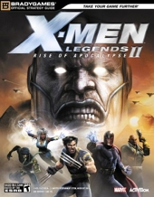 X-Men? Legends II - Rise of Apocalypse Official Strategy Guide de BradyGames