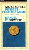 Pensées Pour Moi-Même - Manuel D('Epictète - Flammarion