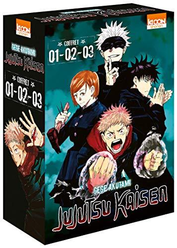 Coffret Jujutsu Kaisen vol. 1 à 3