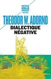Dialectique négative - Les Vacances de la dialectique