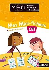 Méthode Heuristique de Mathématiques - Mes Mini-fichiers CE1 - Eleve 2018 de Nicolas Pinel