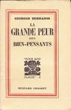 La grande peur des bien-pensants - Édouard Drumont (Pour mon plaisir) - B. Grasset
