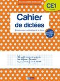 Les cahiers Bordas - Cahier de dictées CE1 - Cahier de dictées CE1 - 7-8 ans - Edition 2019