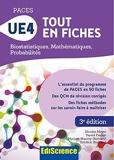 PACES UE4 Tout en fiches - Mathématiques, Probabilités, Biostatistiques - Format Kindle - 9,99 €