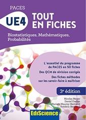 PACES UE4 Tout en fiches - Biostatistiques, Mathématiques, Probabilités - Biostatistiques, Mathématiques, Probabilités de Nicolas Meyer
