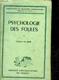 Psychologie des foules - Puf