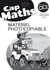 Cap Maths CE2 éd. 2016 - Matériel photocopiable de Roland Charnay