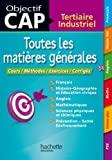 Objectif CAP - Toutes les matières générales CAP by Jean-Pierre Durandeau (2013-07-17) - Hachette Éducation - 17/07/2013