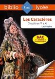 BiblioLycée - Les Caractères, La Bruyère (Livres V à XI) BAC 2022 - 1res générale et techno