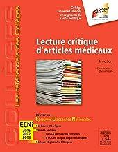 Lecture critique d'articles médicaux - Réussir les ECNi de Damien Jolly