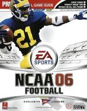 NCAA Football 2006 - Prima Official Game Guide de Brad Anthony