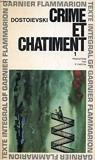 Crime Et Chatiment I 1 - Garnier-Flammarion, Collection GF, N°78, 79