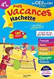 Mes vacances Hachette CE2/CM1 - Cahier de vacances - Hachette Éducation - 10/05/2017