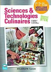 Sciences et technologies culinaires 1re, Tle STHR (2016) - Pochette élève de CHRISTOPHE LAVELLE