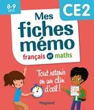 Mes fiches mémo Français et Maths CE2 - Tout retenir en un clin d'oeil 2020