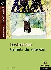 Carnets du sous-sol - Classiques et Contemporains (2008) de Fedor Dostoïevski