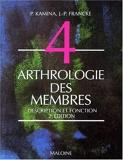Arthrologie des membres. description et fonction