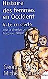 Histoire des femmes en Occident, tome 5 - Le XXe siècle