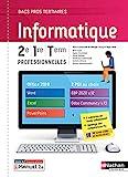 Informatique - 2de/1re/Tle Bacs Pro tertiaires