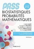 PASS Biostatistiques, Probabilités, Mathématiques - Manuel, cours + QCM corrigés