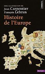 Histoire de l'Europe de Jean Carpentier